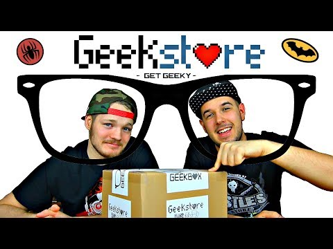 Magyar Geek vagy? Most figyelj!  - Geekstore Februári Geekboxa