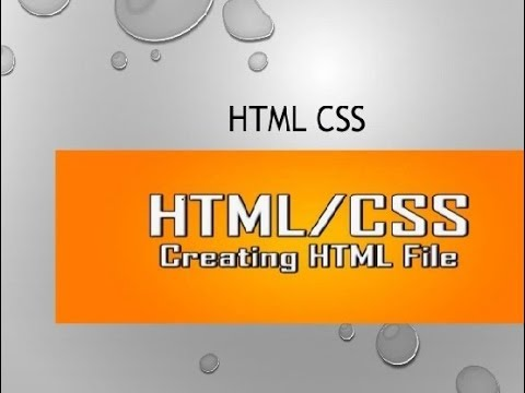 HTML Tutorial 2 (Designing A Website In Notepad - Basics and Beginnings) in urdu thumbnail