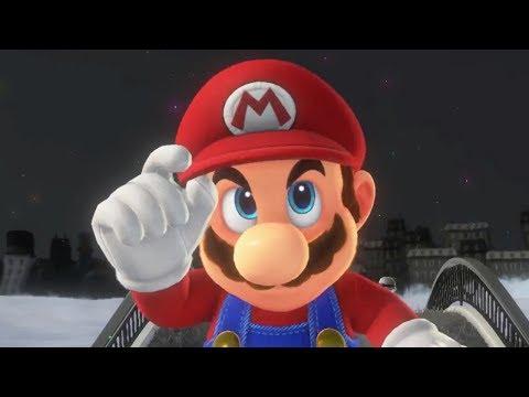 Super Mario Odyssey   E3 gameplay & trailer (2017)
