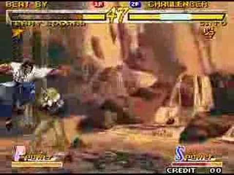 Garou: MOTW  -  Terry vs. Gato