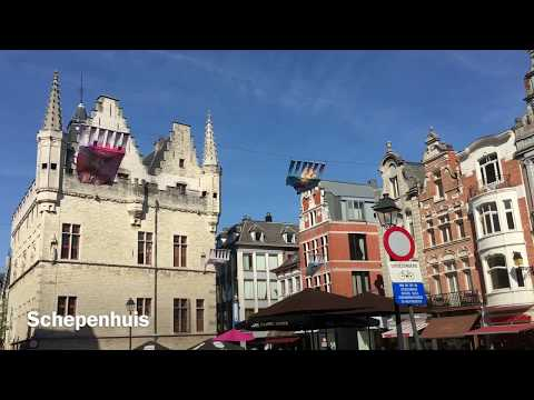 Views Around Mechelen, Belgium - April 2018
