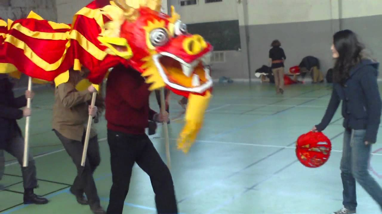 Assez Entrainement dragon chinois made in France! - YouTube IK45