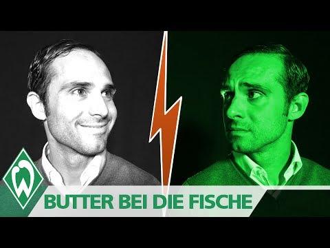 BUTTER BEI DIE FISCHE mit Cheftrainer Alexander Nouri   SV Werder Bremen