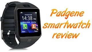 Padgene DEZ09 Smartwatch Review - Cheapest Smartwatch Ever?
