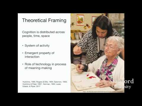 Stanford Seminar: Creating, Sharing, and Privacy - Designing Social Technologies for Older Adults