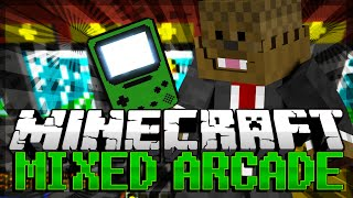 TOO MUCH LAUGHTER Minecraft Mixed Arcade w/ BajanCanadian, xRPMx13 and JeromeASF