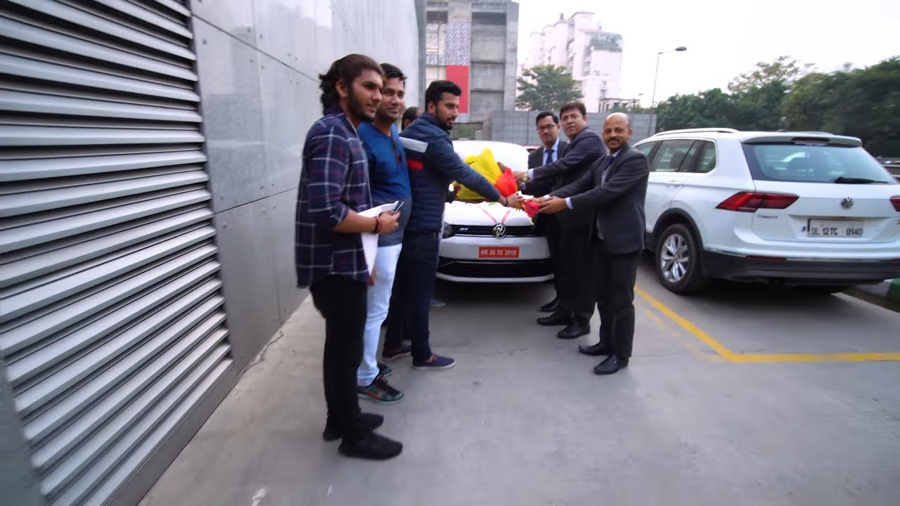 delivery  volkswagen polo gt tsi  india  automatic car youtube