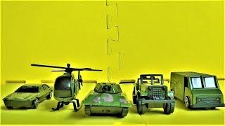 Машинки и военная техника игрушки для мальчиков видео для детей