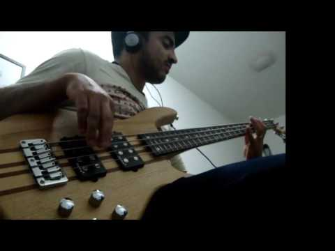 Falling Between Toto-bass cover