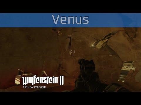Wolfenstein II: The New Colossus - Venus Walkthrough [HD 1080P]