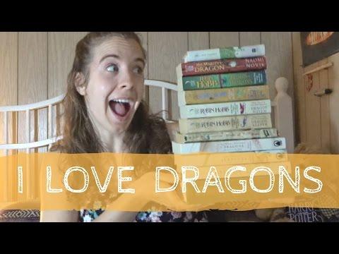 MY FAVOURITE DRAGON BOOKS