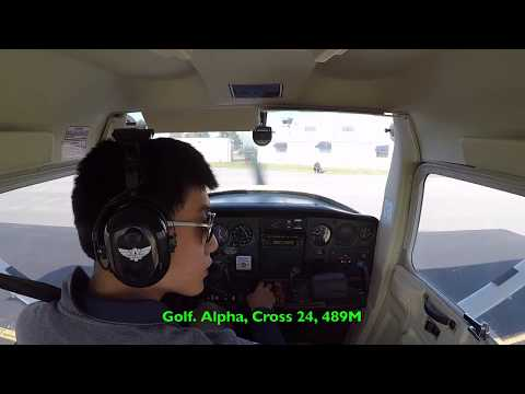 First Solo in Cessna 152 KMDH Southern Illinois Airport SIU Aviation ATC Audio