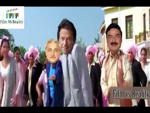 Imran khan in action || gori khol darwaza song