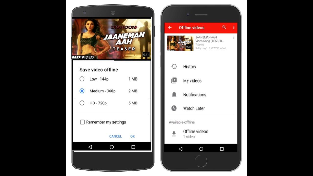 Youtube Video Offline Speichern Android