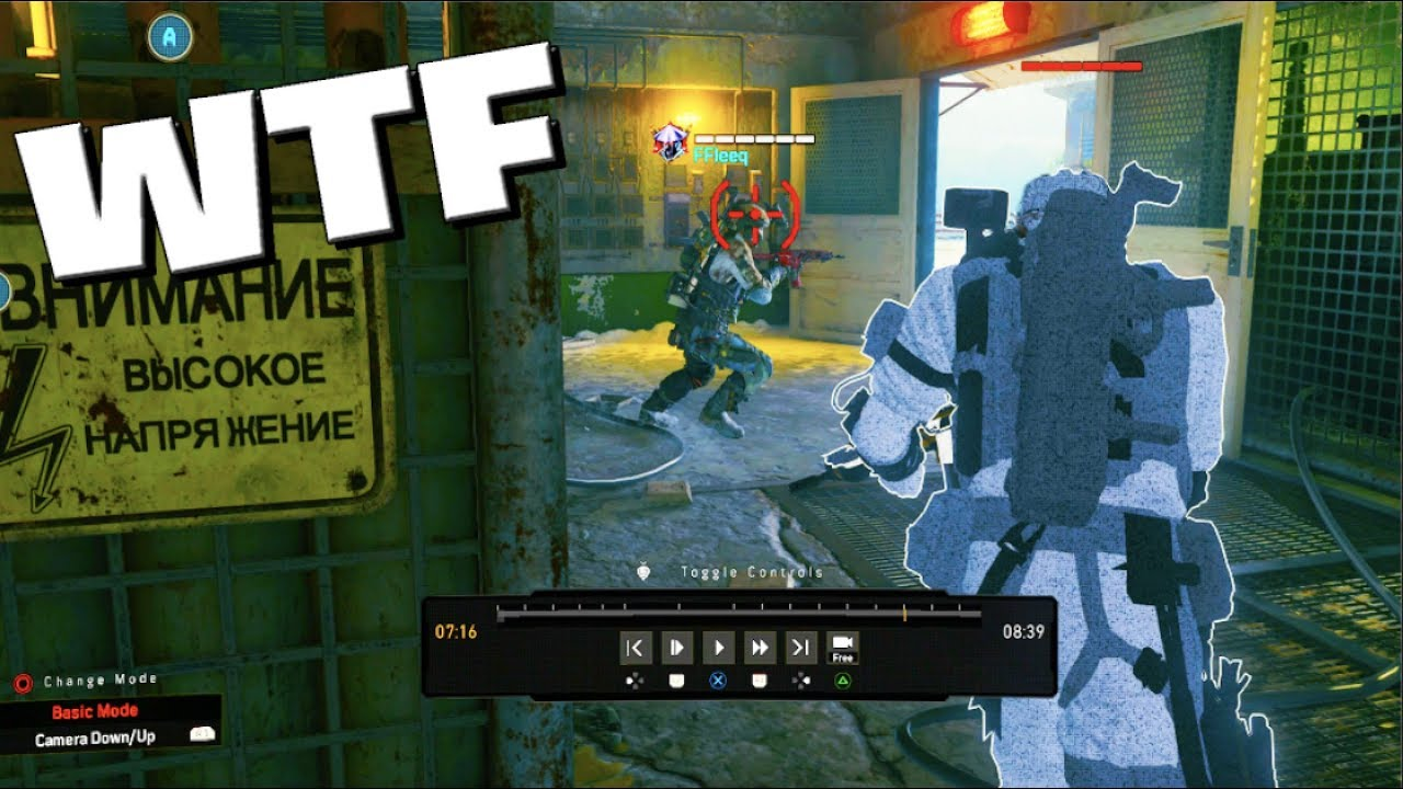 Welp   I found hackers in black ops 4  🤦