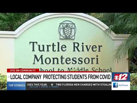 Turtle River Montessori School using central air purifiers.