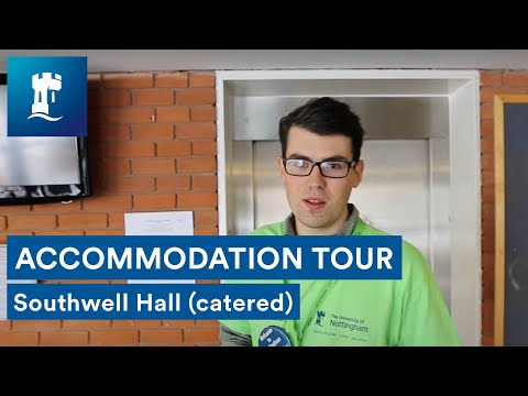 Jubilee Campus - Southwell Hall tour (catered accommodation)