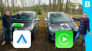 Apple CarPlay vs. Android Auto: welk autosysteem wint?