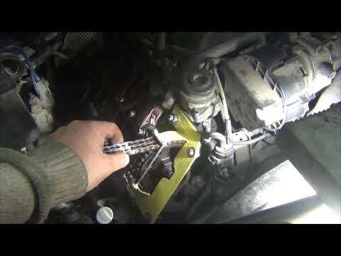 Mercedes M112 Замена цепи ГРМ и окончательные выводы.
