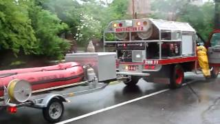 Video compilation | Flooding on New York Avenue | Huntington, New York | June 7 2013