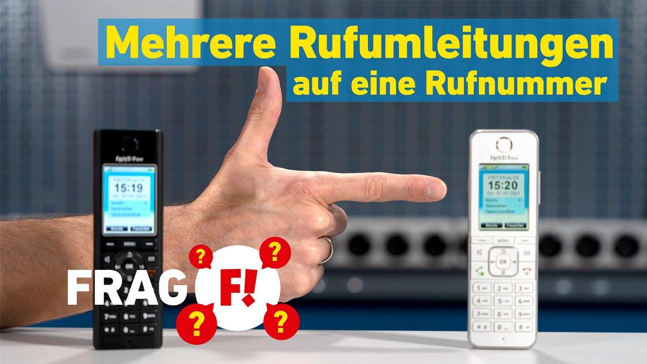 Mehrere Rufumleitungen auf eine Rufnummer einrichten | Frag FRITZ! 39