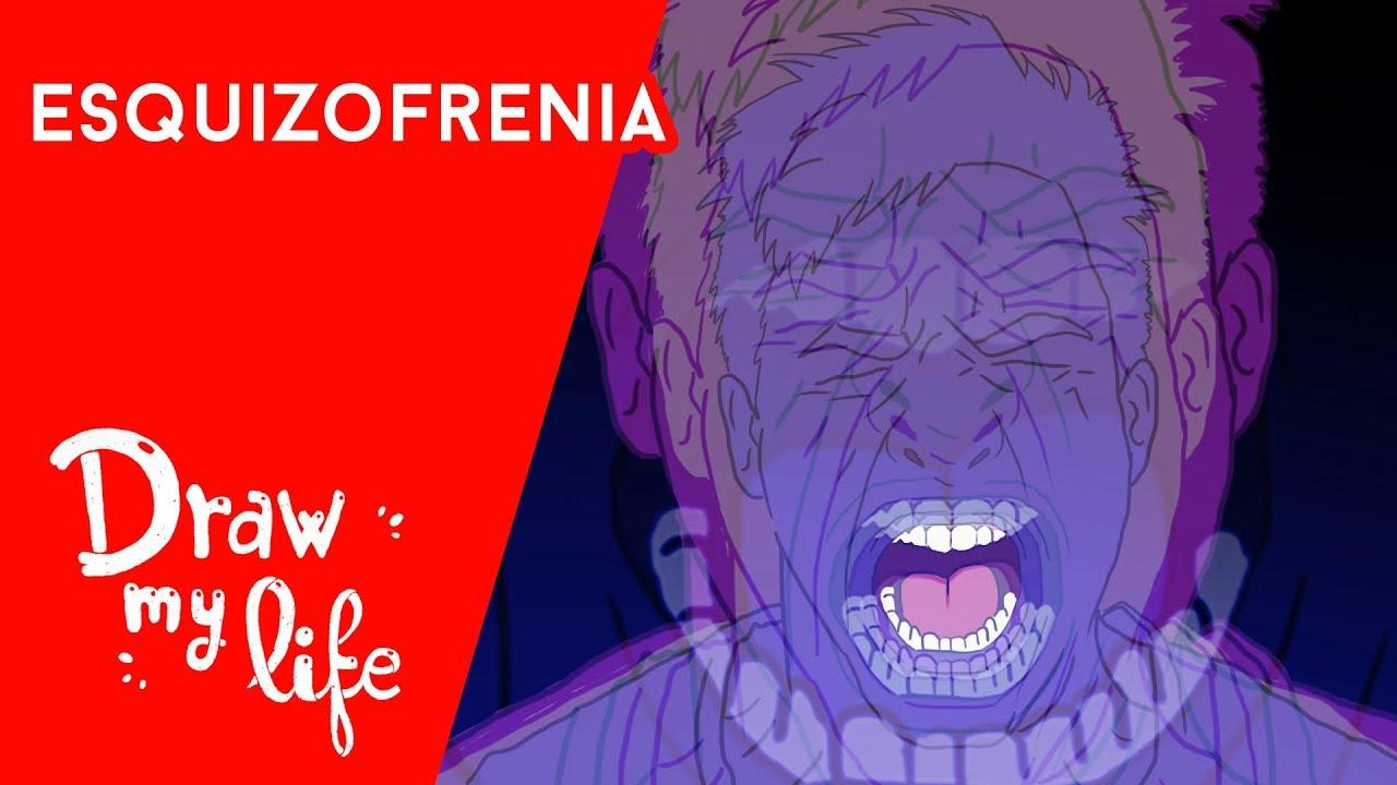 ¿Qué es la ESQUIZOFRENIA? - Draw My Life