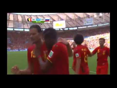 Belgium 1-0 Russia world cup 2014