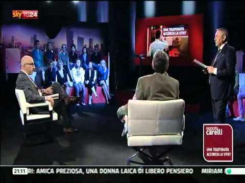 RAPPORTO CARELLI Sky TG24 - Riccardo Staglianò e i pericolo dei telefoni cellulari