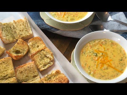 شربة البروكلي والجزر Panera Bread Broccoli Soup Recipe
