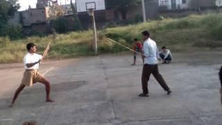 RSS SHAKHA dand yuddh शाखा दंड युद्ध