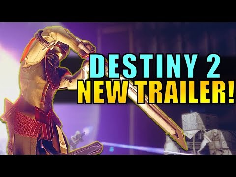 NEW DESTINY 2 TRAILER! All-New Weapons in PC Beta!? Exotic Sword!?