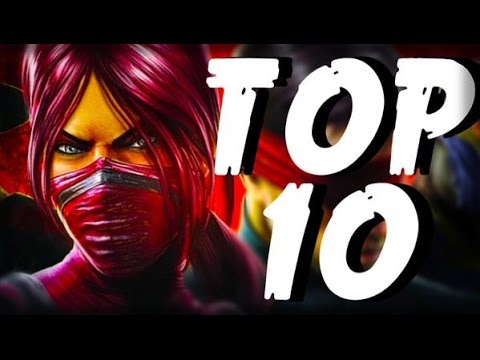 Top 10 Best Female Characters In Mortal Kombat My Opinions Youtube