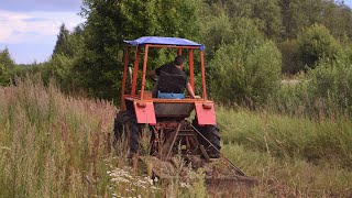 Tractor T 25 Mowing (1080p)