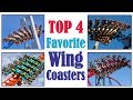 Top 4 Favorite Wing Coasters