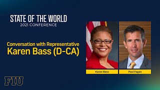 Conversation With Rep. Karen Bass (D-CA)