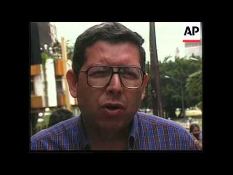 VENEZUELA: INDIGENOUS PEOPLE REPATRIATED FROM CARACAS