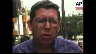 VENEZUELA: INDIGENOUS PEOPLE REPATRIATED FROM CARACAS