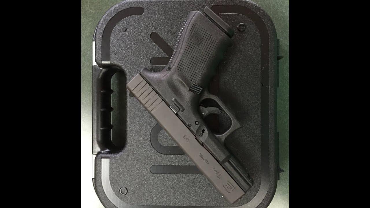 Glock 19 Gen 4 Extended Slide Release Youtube