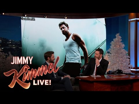 How John Krasinski Got Jacked