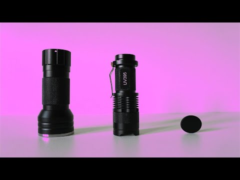 Difference between 365nm and 395nm Uv Flashlights