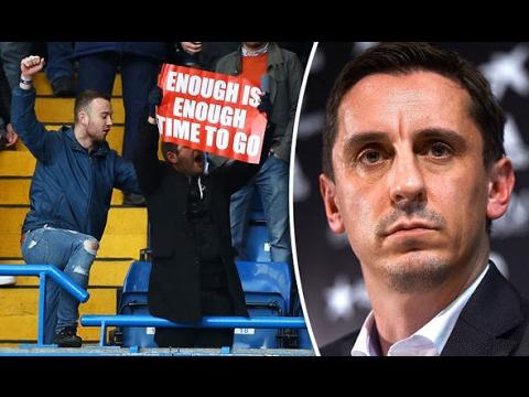 Gary Neville vs Arsenal Fan TV | #LetsTalk