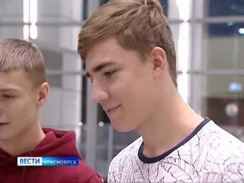 В Красноярск прилетел чемпион мира по боксу Денис Лебедев