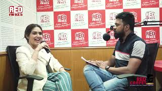 Prayaga Martin | Red Carpet | RJ Mike | Red FM Malayalam
