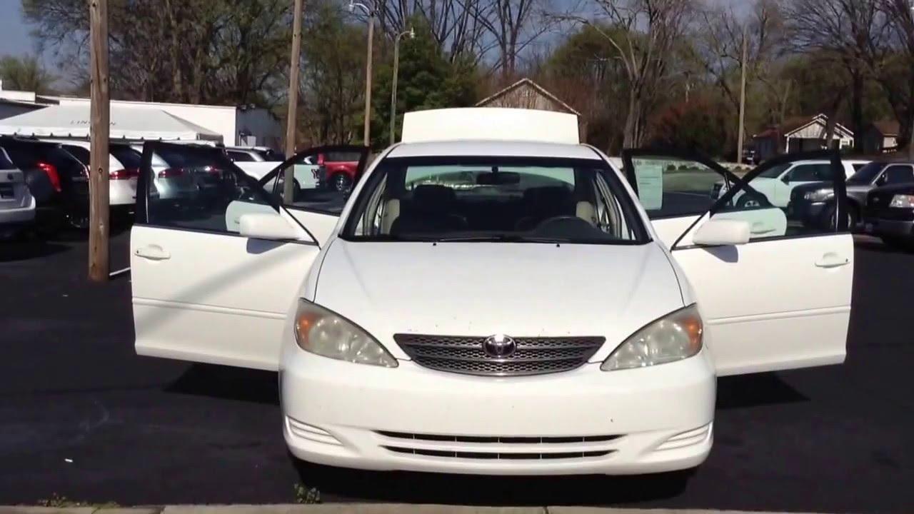 2004 White Toyota Camry Mullinax Lincoln Automotive Stk 6252