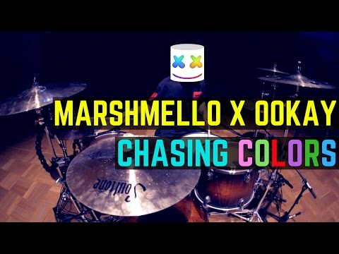 Marshmello x Ookay - Chasing Colors (ft. Noah Cyrus) - Drum Cover