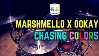 Marshmello x Ookay - Chasing Colors (ft. Noah Cyrus) | Matt McGuire Drum Cover