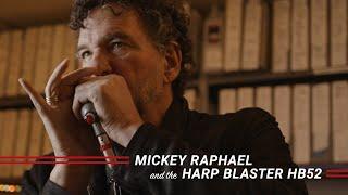Mickey Raphael and the Harp Blaster HB52
