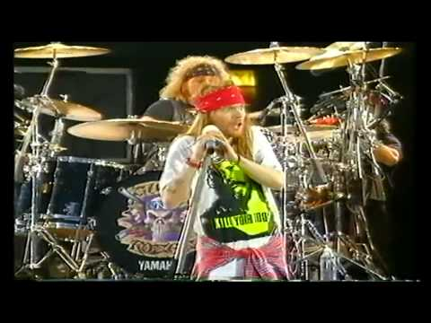 Guns N Roses - Knocking On Heaven's Door Live -  HD (Freddie Mercury Tribute 1992)