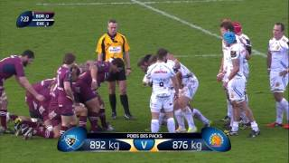 European Rugby Champions Cup 15-16. Bordeaux Begles - Exeter Chiefs 16.01.16
