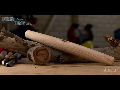 Woodturning - Howto turn a French Rolling Pin